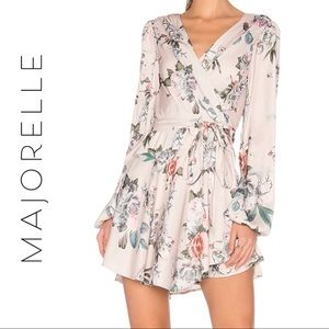 MAJORELLE Tropicana Dress in Flamingo